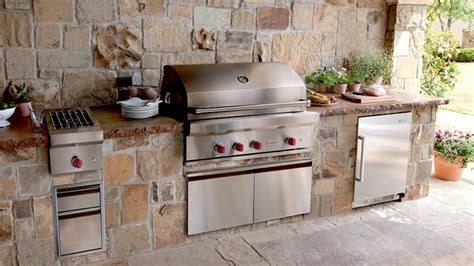 wolf outdoor kitchen barbecue pits designs studio design gallery best