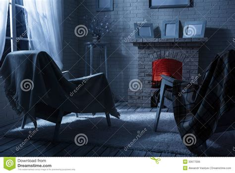 Moonlight Interiors by Interior Royalty Free Stock Image Image 30677006