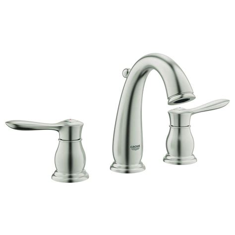grohe bathroom sink faucets grohe parkfield 8 in widespread 2 handle bathroom faucet