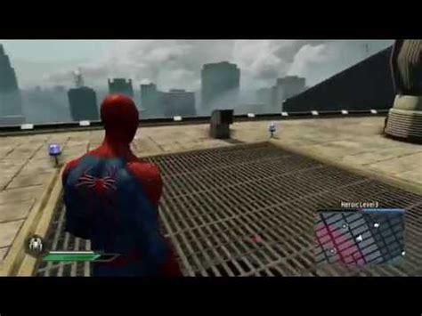 amazing spider man  video game tasm suit  roam