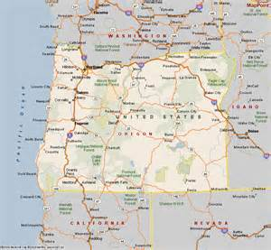 oregon coastal cities map central oregon map