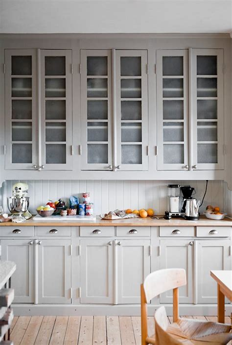 Light Gray Kitchens Always Warm Light Gray Cabinets Light Gray Cabinets Gray Cabinets And Subway Tiles