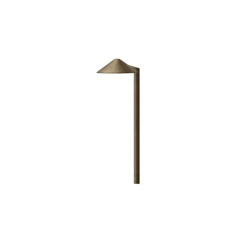 low voltage aged brass outdoor halogen path light hton bay low voltage rubbed bronze outdoor