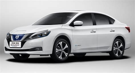 2019 Nissan Sylphy by New Nissan Sylphy Is A Leaf Based Ev With 338km Of Range