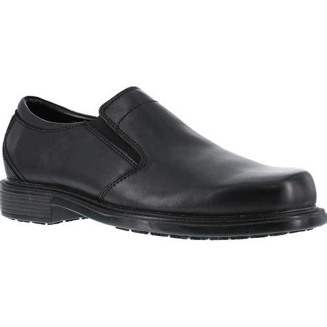 slip resistant work shoes for rockport slip resistant slip on work shoe rk6523