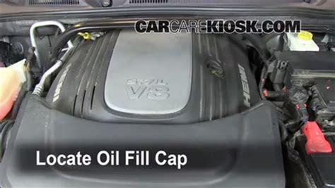 oil filter change jeep commander    jeep commander limited