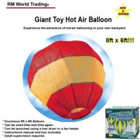 Hair Dryer Air Balloon Experiment air balloon experience air ballooning in