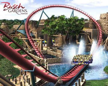 Busch Gardens Theme Park by Theme Park Deals And Discounts Busch Gardens Ta Bay Exciting And Unique Attractions At An