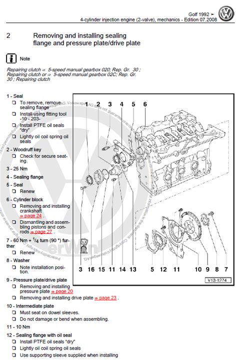 volkswagen golf 3 1992 1998 repair manual factory manual