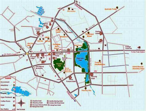 map of city kashgar city map map of kashgar city kashgar hotel map