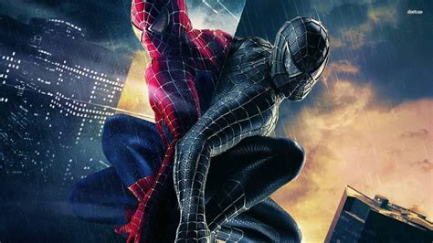 imagenes spiderman negro spider man 3 wallpapers wallpaper cave
