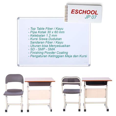 Kursi Kayu Siswa meja siswa dan kursi siswa eschool jp07 satu kantor