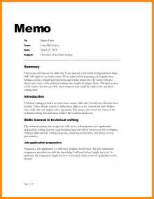 Memo Format 6 How To Write A Memo Reporter Resume