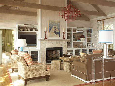 great room decorating ideas photos pagoda chandelier cottage living room amanda nisbet