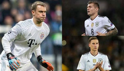 Alemania Mundial 2018 Alemania En Rusia 2018 El Once De Los Hinchas De La