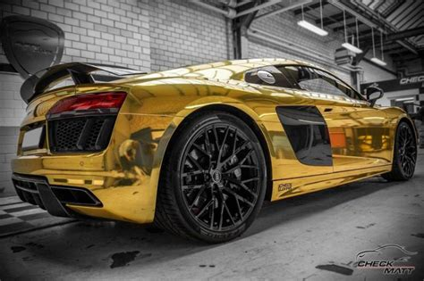 Folie Gold Chrom by Der Tuning Styling