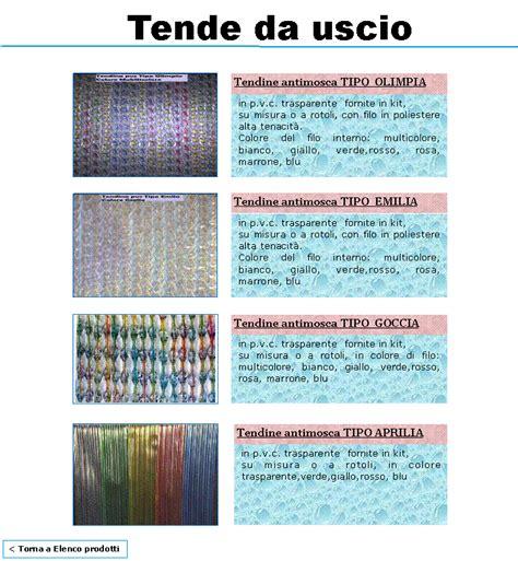tende in plastica colorate produzione tende in plastica a fili antimosche per uscio