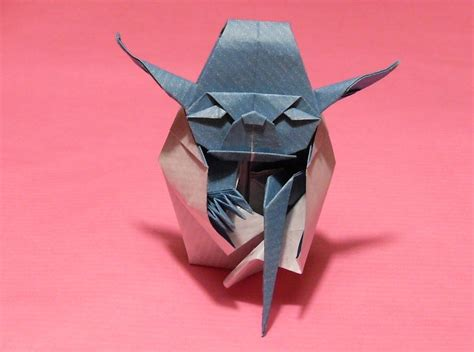 Origami Jedi - origami yoda the jedi master by orestigami on deviantart