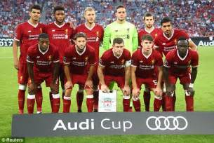 Audi Liverpool Opening Times Liverpool 1 1 Atletico Madrid Result Audi Cup