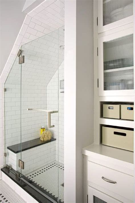 Decorating Ideas For Small Bathrooms In Apartments Attic Bathroom Shelving Cabinet