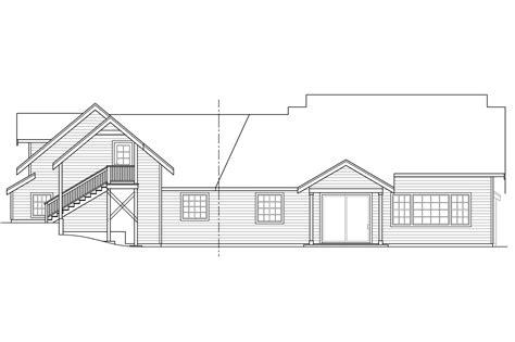 bungalow floor plan with elevation craftsman house plans alexandria 30 974 associated designs