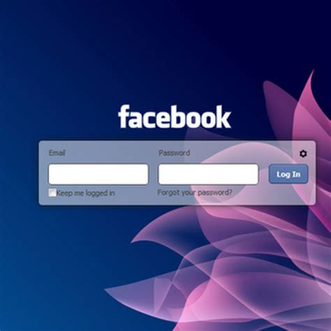 change facebook themes background change background image for facebook login page project