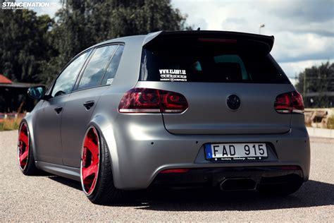 volkswagen golf modified custom is the word klarby s unique golf r