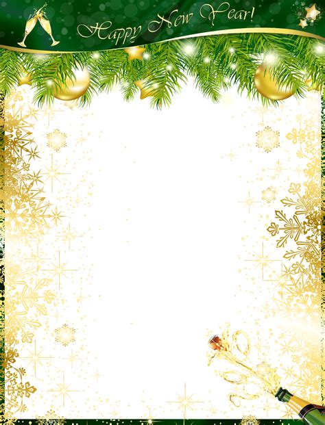chagne transparent new year photo frames png 65000 personalized photo frames