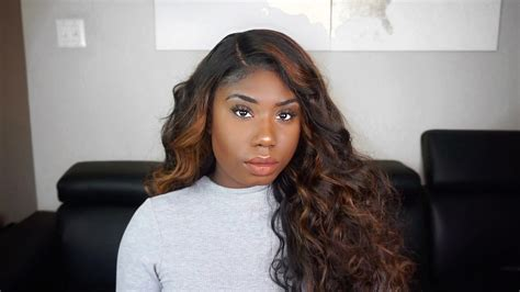 highlighted weave bundles how to do honey blonde highlights in weave lavy virgin