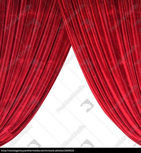 Roter Vorhang by Roter Vorhang Ehrf 252 Rchtig Roter Vorhang Lizenzfreies Foto