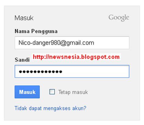 contoh membuat akun gmail com cara login atau masuk ke akun gmail anda blogger tutor