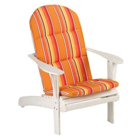 Adirondack Chair Pads by Sunbrella Dolce Mango Outdoor Adirondack Chair Cushion 1573210570 The Home Depot