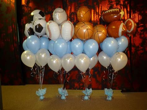 Sports Baby Shower Decoration Ideas by Best 25 Sports Banquet Centerpieces Ideas On