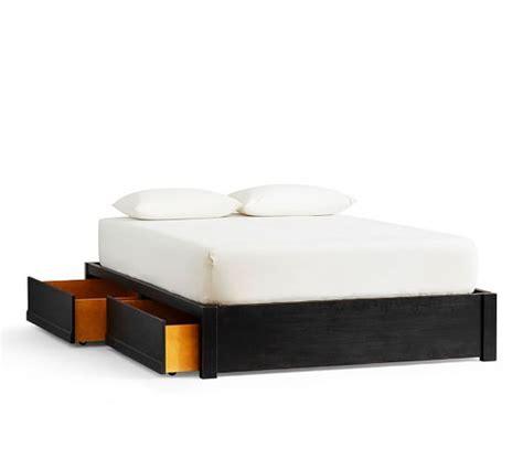 tacoma bed storage tacoma storage platform bed pottery barn