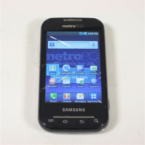 metro pcs android phones samsung galaxy indulge r910 android 4g lte phone metro pcs blk d stock ebay