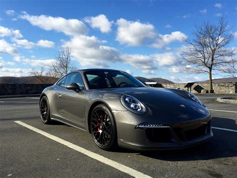 porsche 911 carrera gts black new 2015 991 gts in agate gray rennlist discussion forums