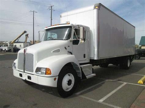kw box truck 2007 kenworth van trucks box trucks for sale used trucks