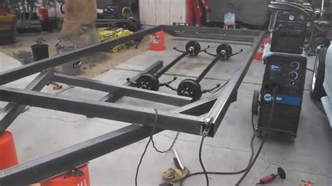 how to build a boat trailer youtube building an 18 flat trailer car carrier hauler with dove