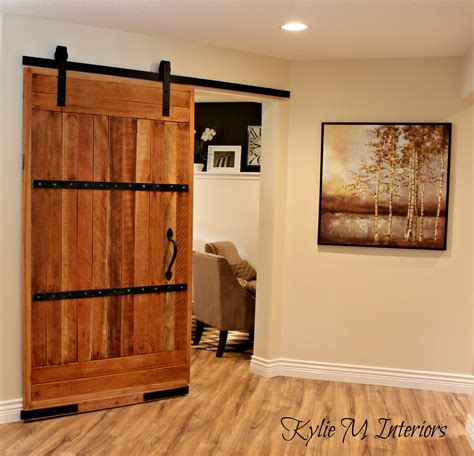 My New Home Office Sliding Barn Door And More Kylie M Home Office Door Ideas