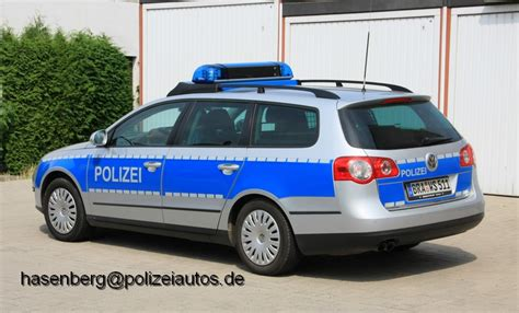 Vw Passat Variant Kofferraum Maße by Polizeiautos De Vw Passat B6 Variant