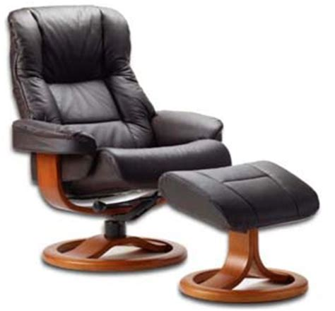 scandinavian leather recliner chairs fjords 855 loen ergonomic leather recliner chair ottoman