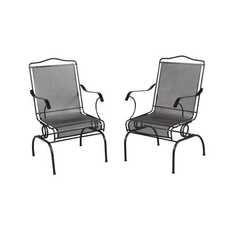 Patio Armchair by Hton Bay Jackson Patio Chairs 2 Pack 7891700