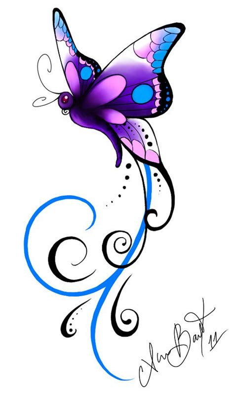 purple butterfly tattoo designs 53 amazing butterfly tattoos designs