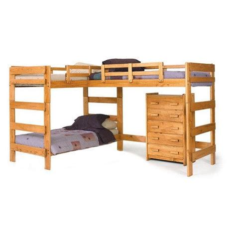 l shaped bunk beds for kids chelsea home l shaped bunk bed
