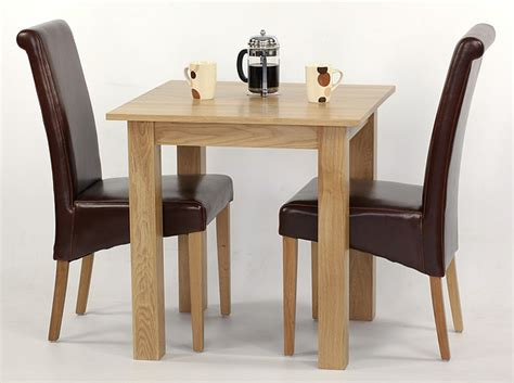small oak dining table and 2 chairs hudson 2ft 6 quot x 2ft 6 quot solid oak dining set