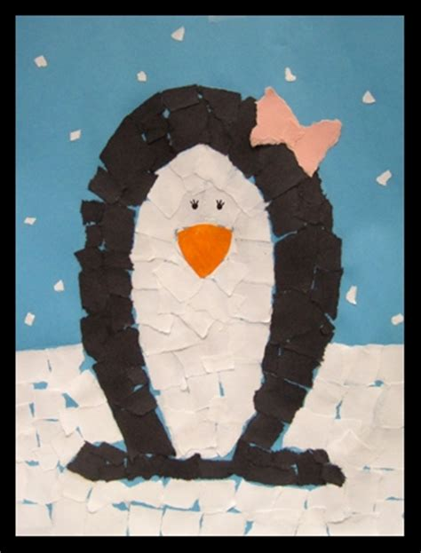 penguin paper craft preschool crafts for 9 penguin winter crafts