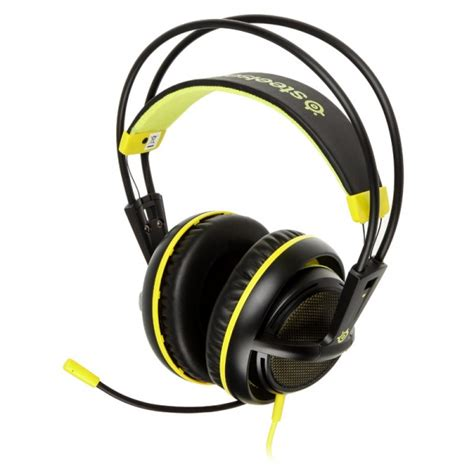 Steelseries Siberia 200 Proton Yellow Gaming Headset steelseries siberia gaming headset 200 proton yellow gapl 695 from wcuk