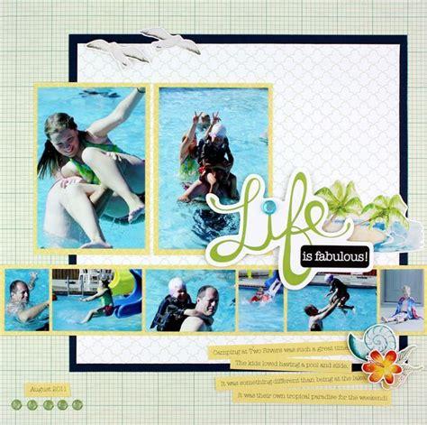 Multi Photo Scrapbook Layouts by Multi Photo Scrapbook Layout Scrapbooking