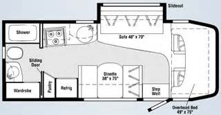 navion rv floor plans colonial airstream nj 2008 itasca navion 24h 24 6 quot