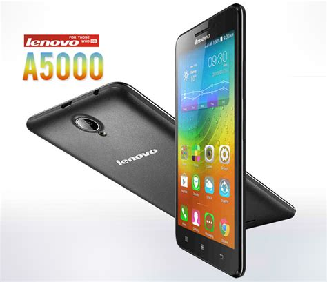 Hp Lenovo A5000 Malaysia Lenovo A5000 With A 4 000mah Battery Launched In The Philippines Specs Price And Features